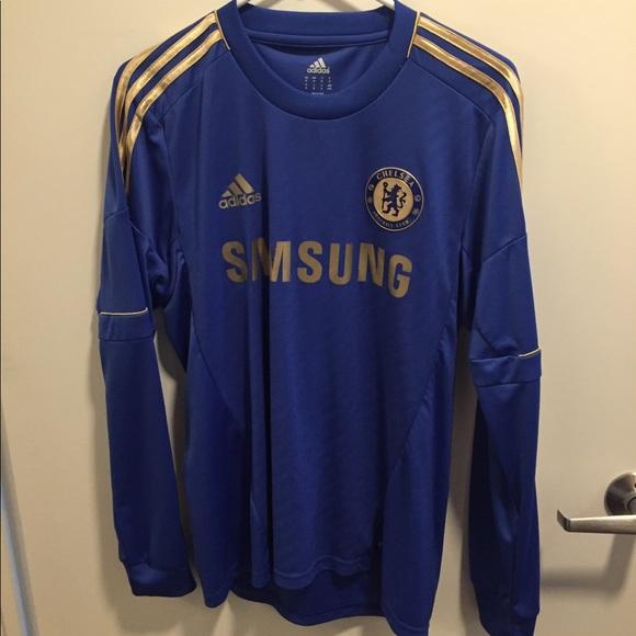 3e8ccb1ab5e adidas Shirts | Chelsea Long Sleeve Torres Jersey 9 | Poshmark
